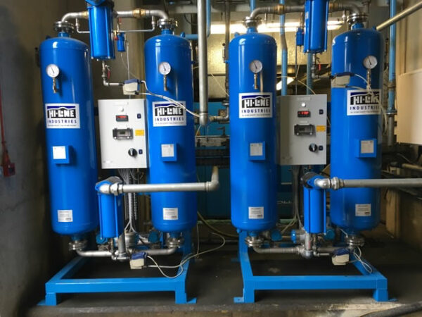 PH Pneumatics Ltd task was to maintain constant compressed air at -40 degrees