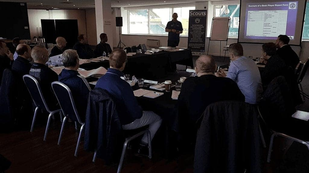 PFSA Level 2 Scouting Course at our partners Hibernian FC