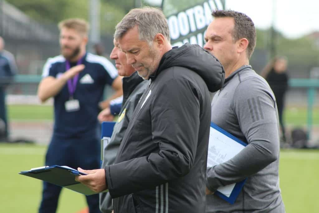PFSA UK Football Trials Scouts In Attendance