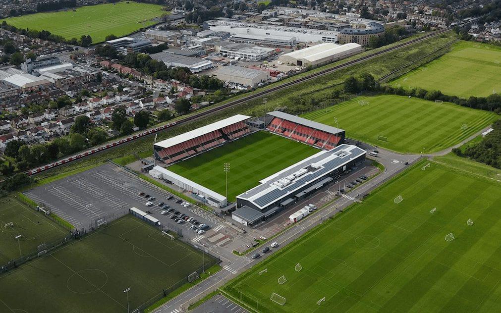 The Hive, Barnet FC. London.