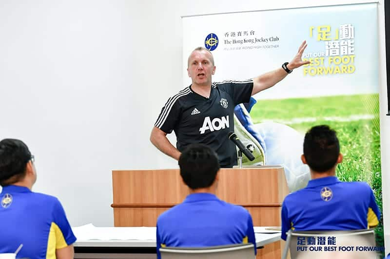Dean Whitehouse PFSA Tutor and Manchester United Coach