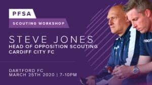 PFSA Workshop: Opposition Scouting with Steve Jones of Cardiff City