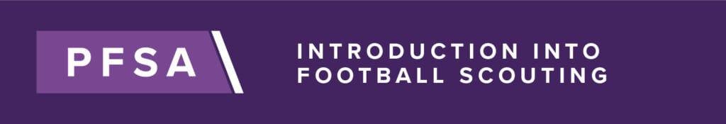 PFSA Introduction Into Football Scouting