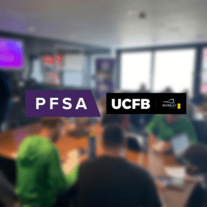 UCFB Wembley and the PFSA team up