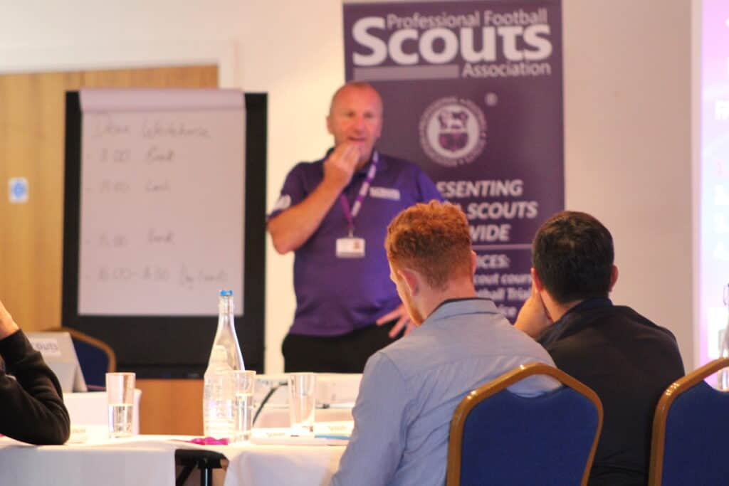 Andy Howe on the PFSA Level 2 Talent Identification In Football