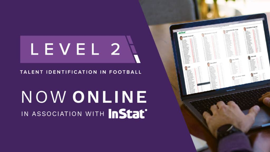 PFSA Level 2 Talent Identification In Football Online Course endorsed by Instat