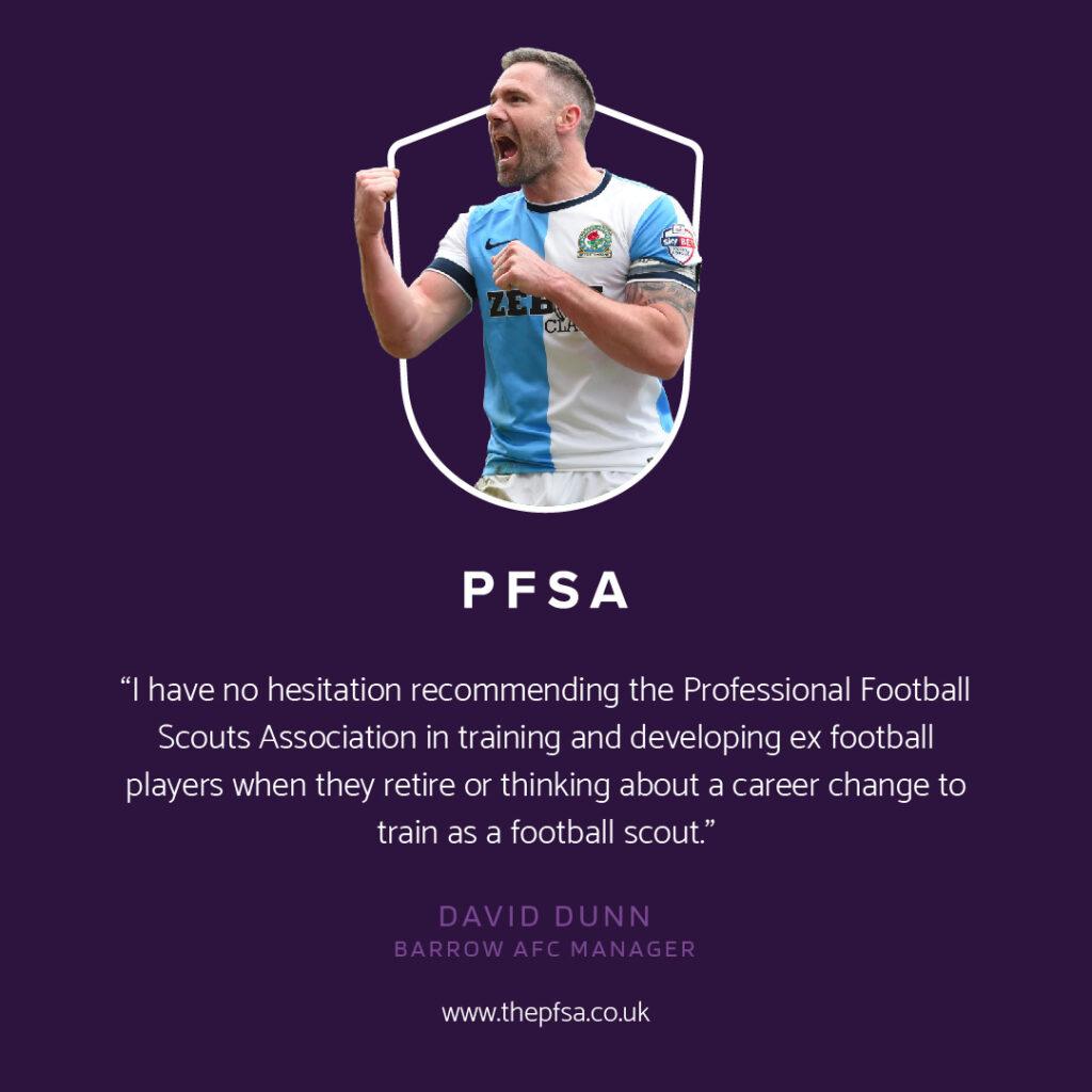 David Dunn recommends the PFSA