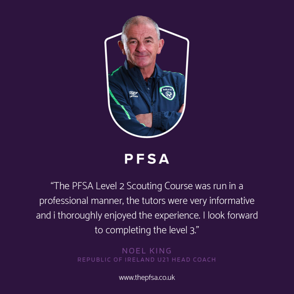 Noel King recommends the PFSA