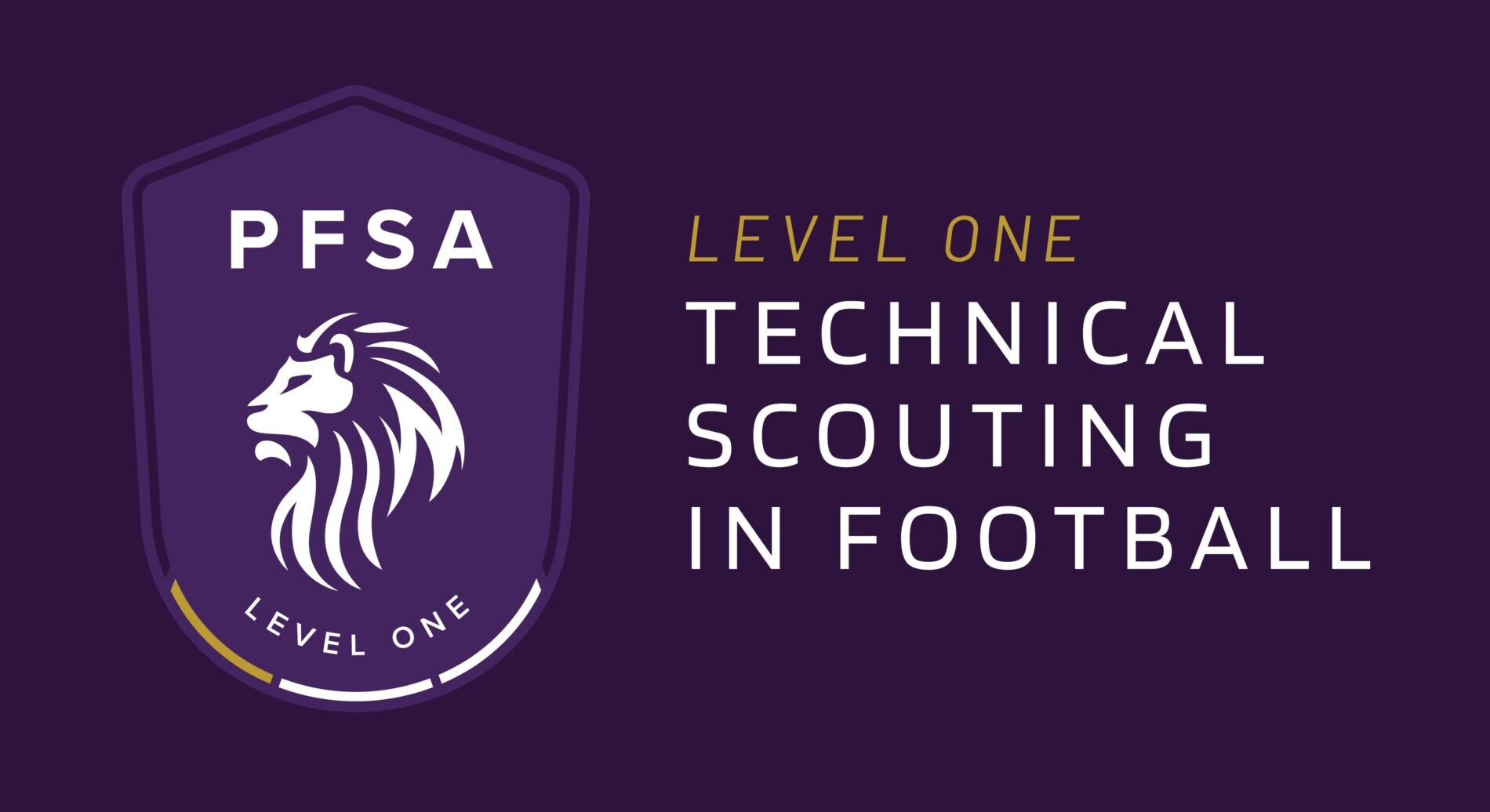 PFSA Level 1 Technical Scouting in Football