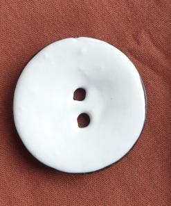 jabonera boton blanca