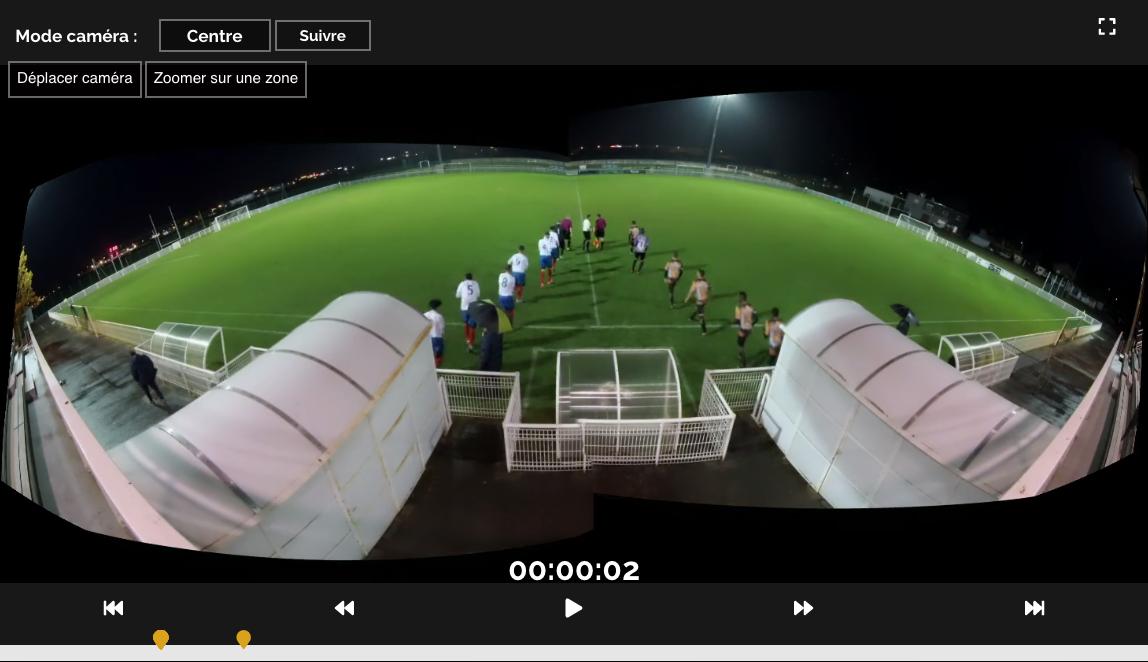 Match entrainement football analyse logiciel caméra filmer