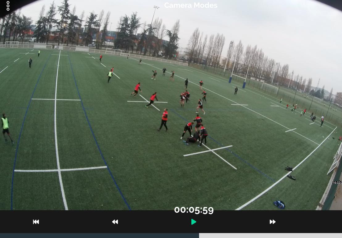 Match football filmer analyse entrainement caméra