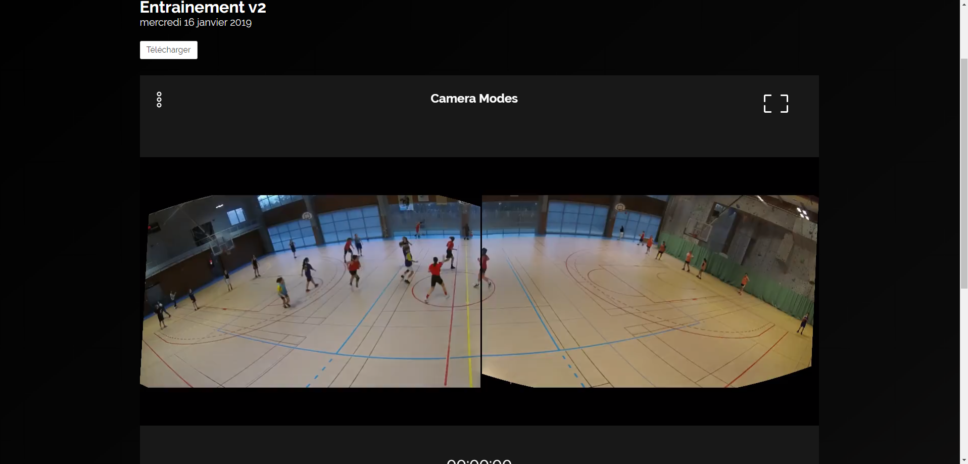 filmer match basket analyse entrainement