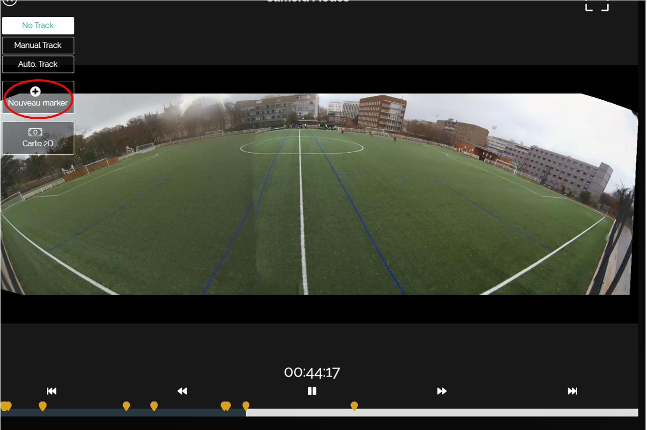 Filmer caméra match football analyse logiciel