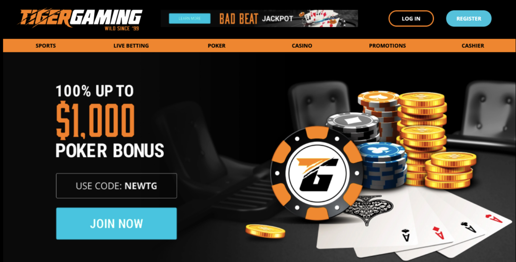 Tigergaming welcome