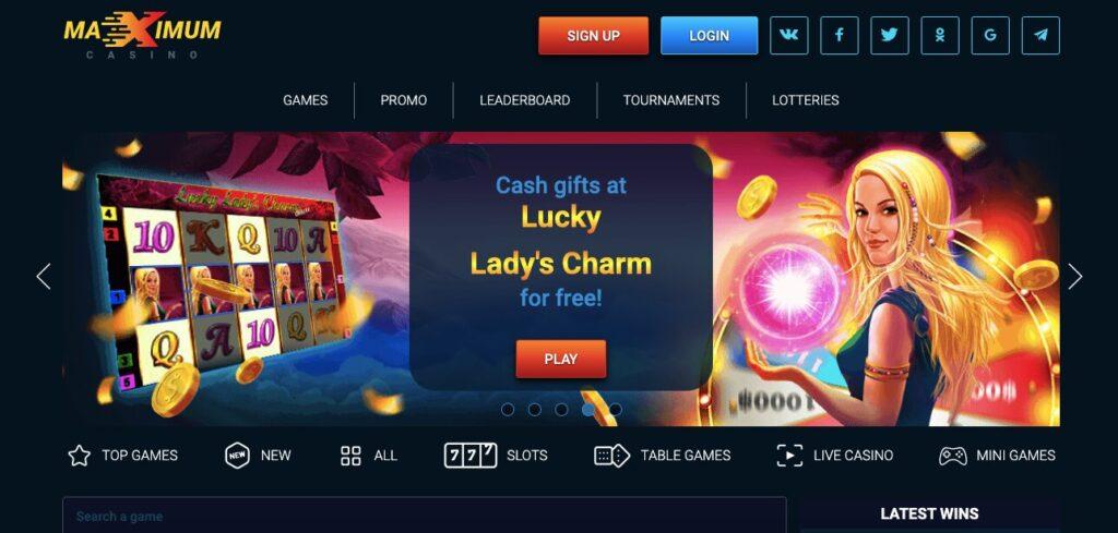 maximum casino welcome