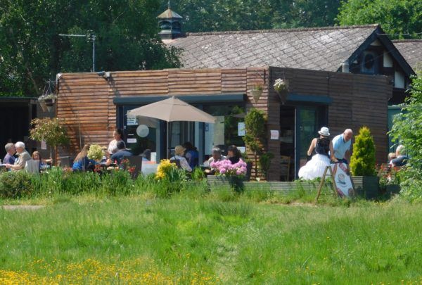The cafe at Beggars Hollow