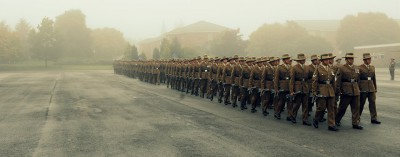 Rehearsal for the passing-out parade