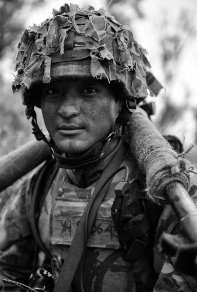 Soldier of the Royal Gurkha Rifles