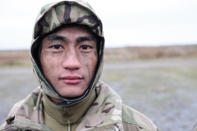 Soldier of the Queen's Gurkha Signals