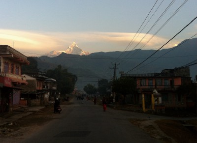 Near Pokhara, west Nepal