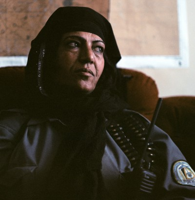 Afghan National Policewoman