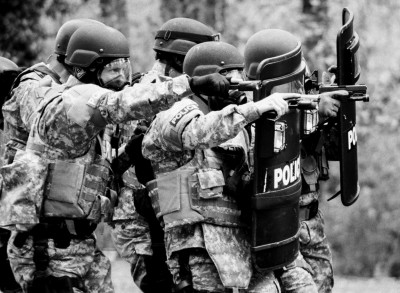 SWAT training, Georgia/US