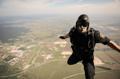 Skydiving Unit, COBRA Special Ops, Austria