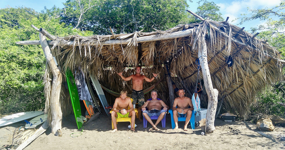 Playgrounds Surf Camp Nicaragua Beach Palapa