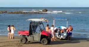 Playgrounds Surf Camp Nicaragua Panga Boat