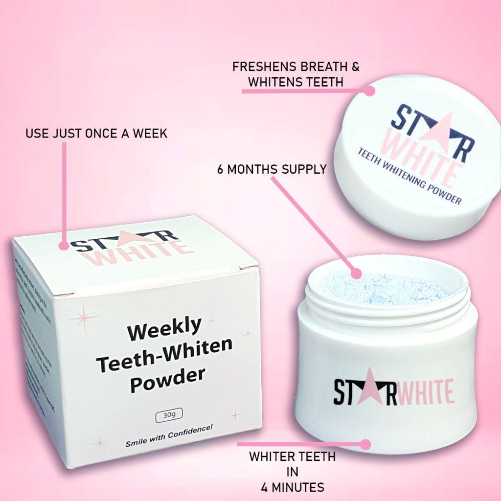 Star White Teeth Whitening Powder