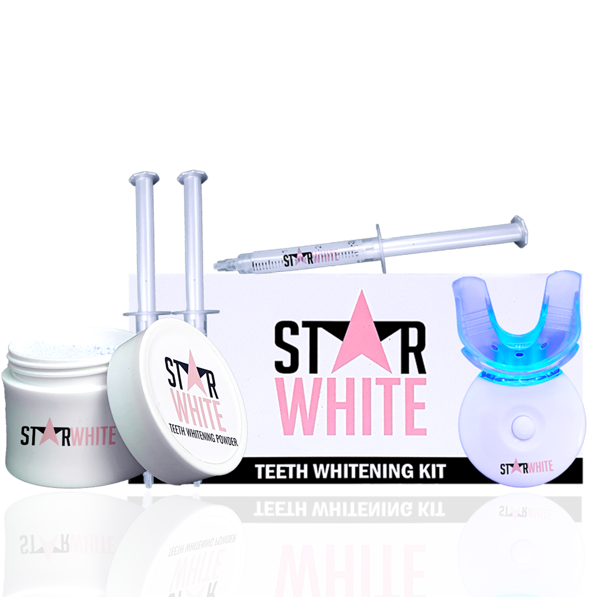 Teeth Whitening Kit & Powder