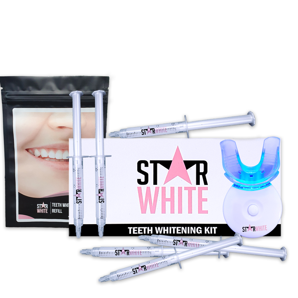 Teeth Whitening Kit & Refill