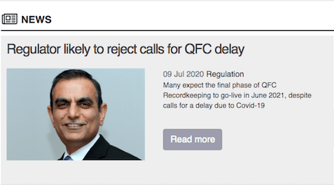 QFC Delay: Regulator Likely to Reject Requests For Deadline Extension