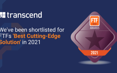 Transcend Shortlisted as Best Cutting-Edge Solution in the FTF News Technology Innovation Awards 2021