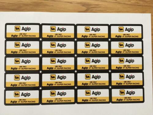 Agip Stickers reproduced