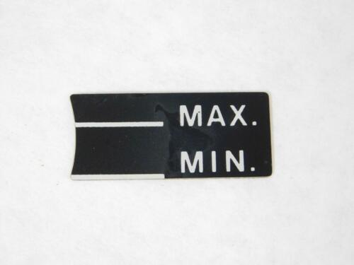 Oil Min Max