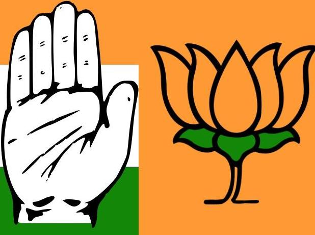 bjp vs congress
