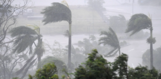 Gujarat in June ahead of cyclone Vayu