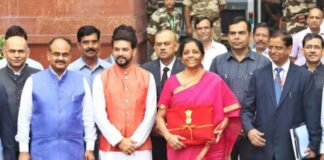 sitharaman on budget day