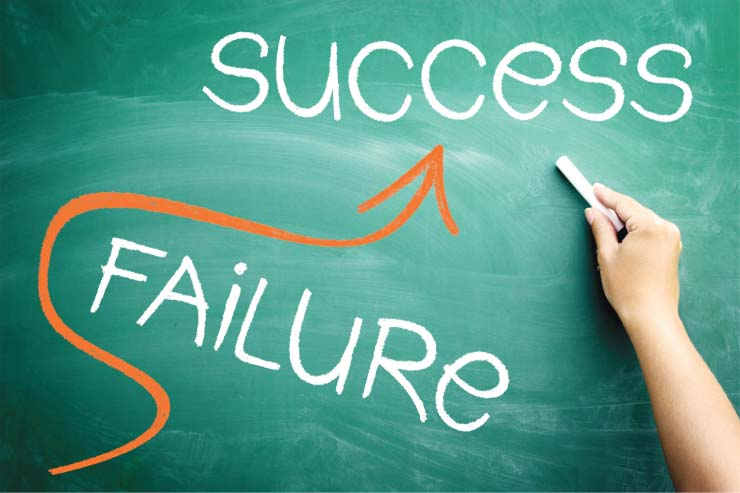 success and failure in business