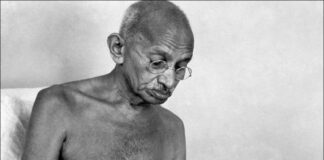 mahatma gandhi rare picture