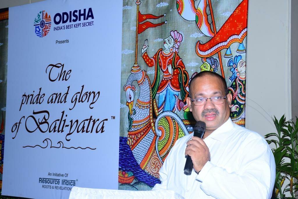Vishal Dev on Pictorial Exhibition on odisha