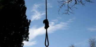 hanged-to-death