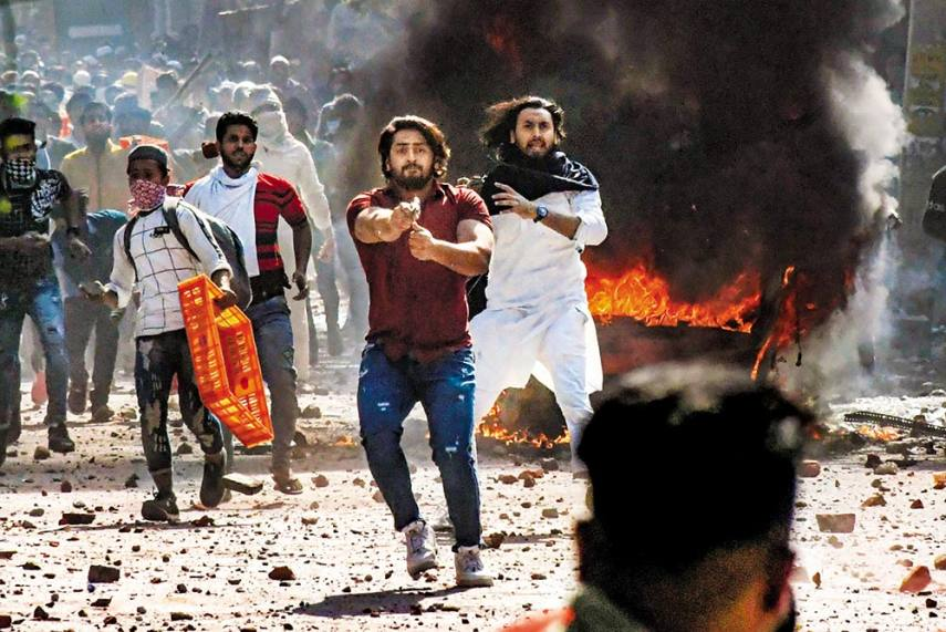 Delhi on Fire
