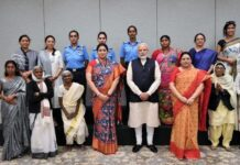 seven 'women achievers' wo shared their story on modi's social media handles