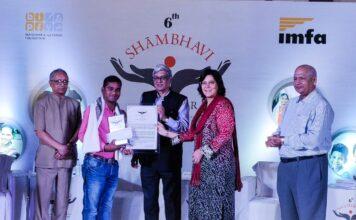Shambhavi Puraskar presented to leaders of social change