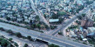 enpty streets of bhubaneswar