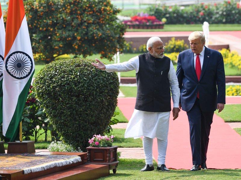 Trump's visit to India