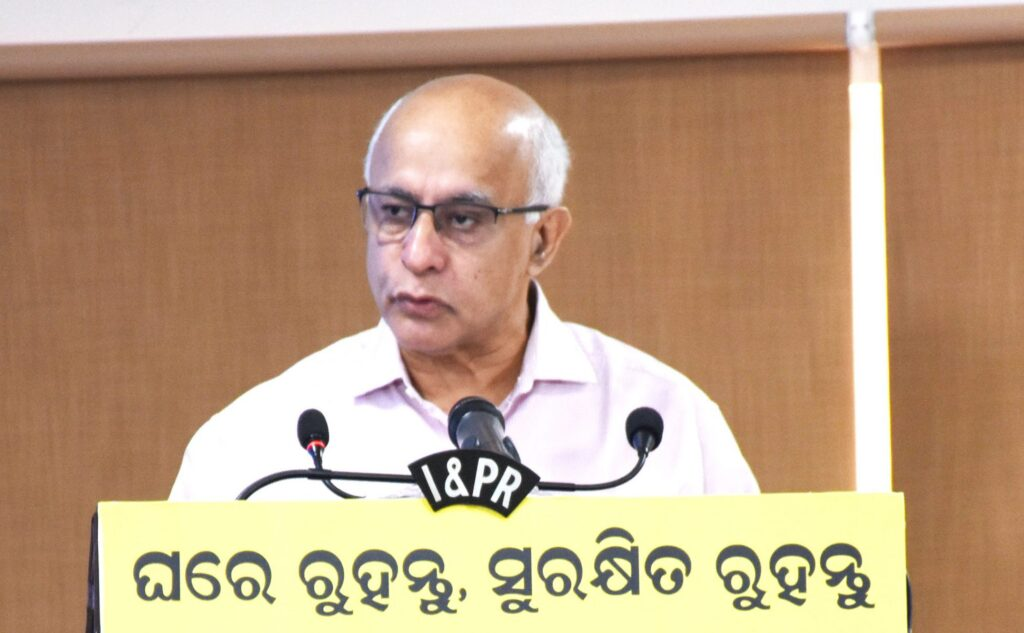 Subroto Bagchi, Chief Spokesperson on Corona Action, Govt. of Odisha
